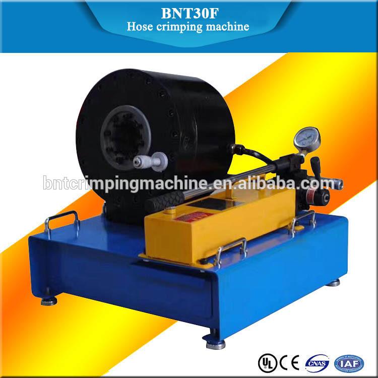 barnett BNT30F new 1 1/4 inch hydraulic hose crimping machine