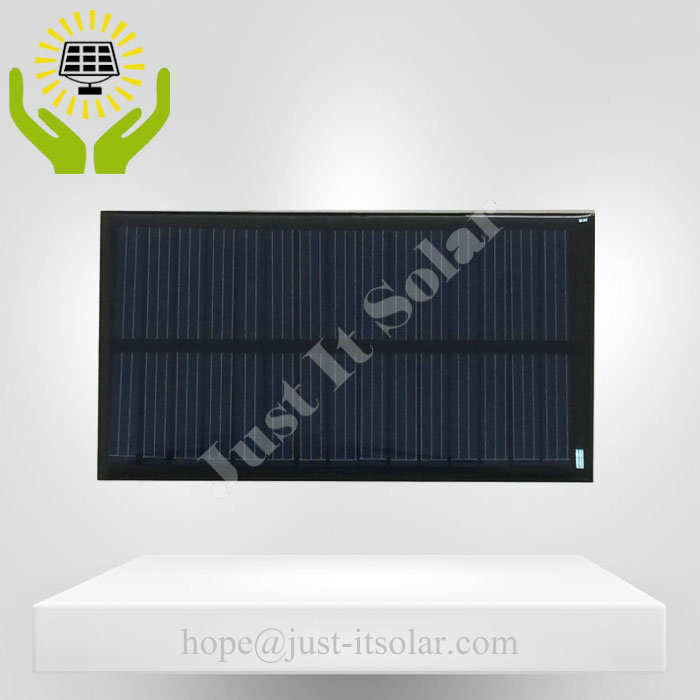 7V 100mA 0.7W Epoxy Resin Mini Solar Cell