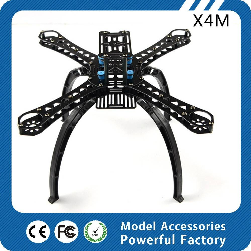 Small four-axis QAV X4M250L X4M280L X4M310L X4M360L X4M380L rack quadcopter frame/chassis for FPV qu