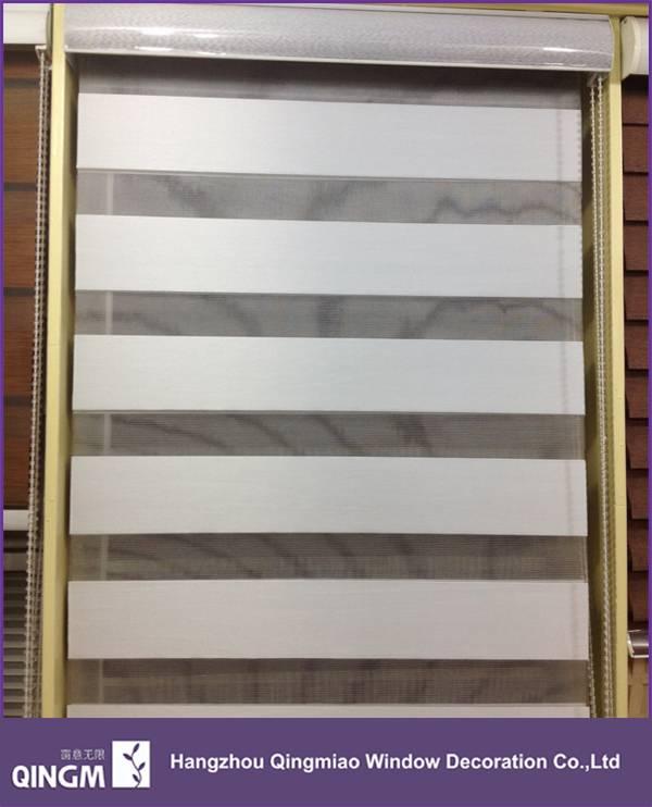 2015 100% Full Blackout Zebra Blind Bedroom Curtain Pattern
