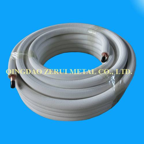 Ce Certified Insulated Copper Tube for Central Air Conditioner