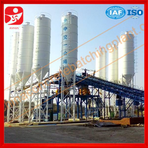 Factory price ready stock HZS90 concrete mixing plant