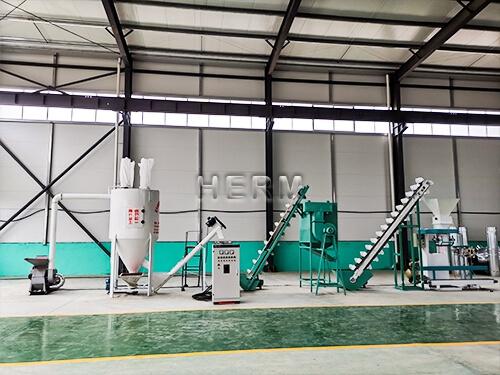 600-800kg/h Feed Pellet Plant