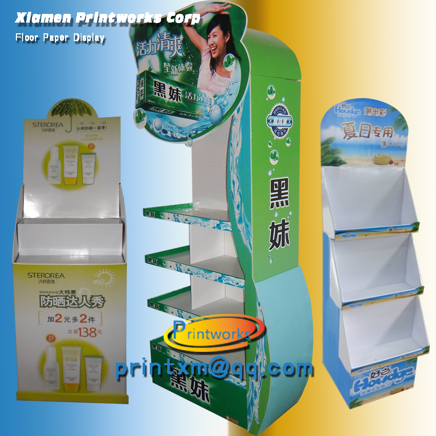Advertising Cardboard Display