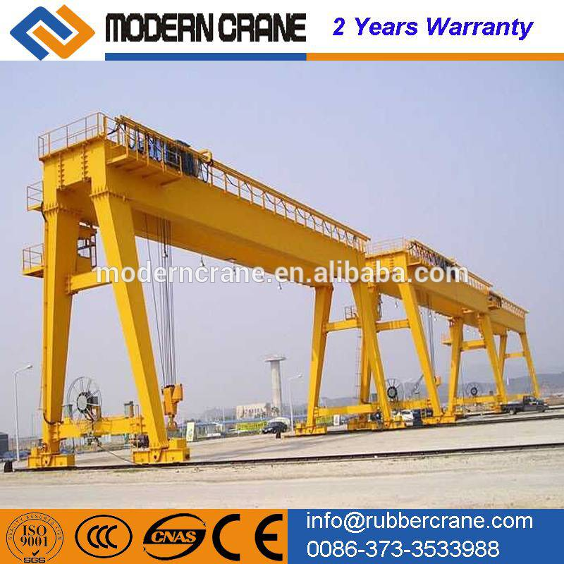 Factory price ! 20ton double girder gantry crane for sale