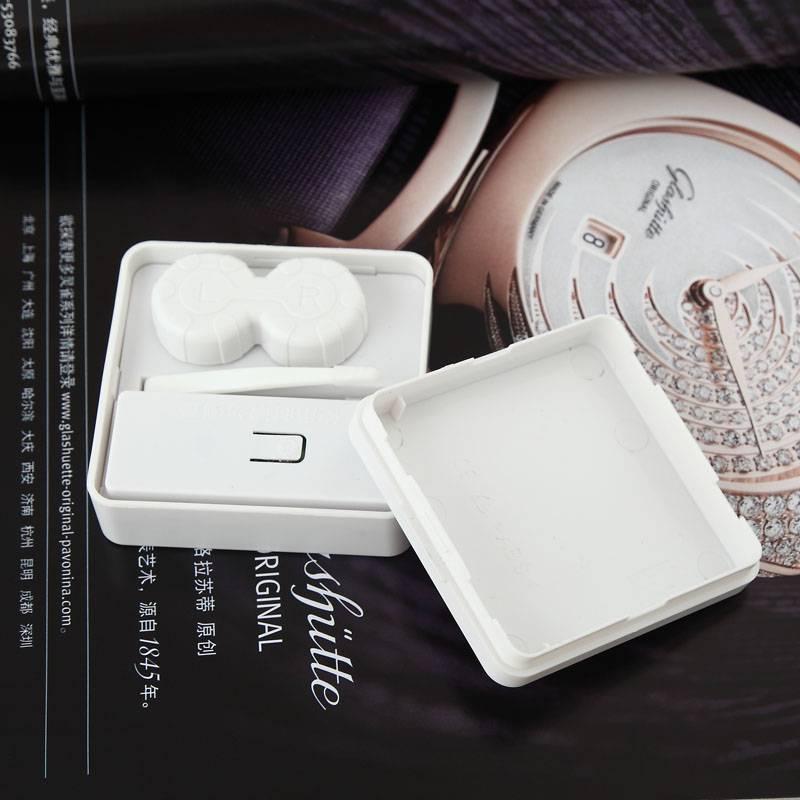 3N Electric Contact Lens Cleaning Set,Eyewear Cleaner Case,Contact Lens Cleaning Box