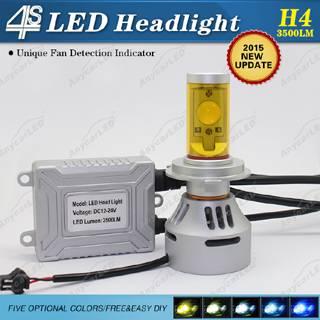 4S 3500LM H4 LED Light Bulb DC12-24V with CE,RoHS