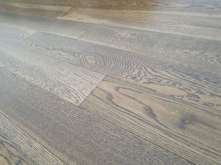 coffee color prefinished oak wood flooring for construction contrator