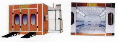 Far Infrared Car Oven Paint Spray Booth