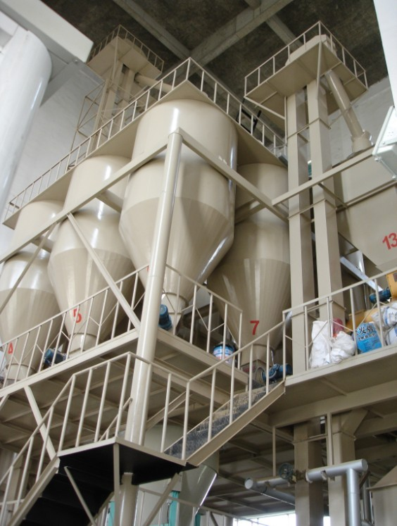 automatic feed production line