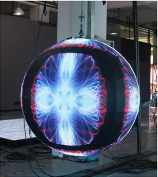 Spherical LED Display