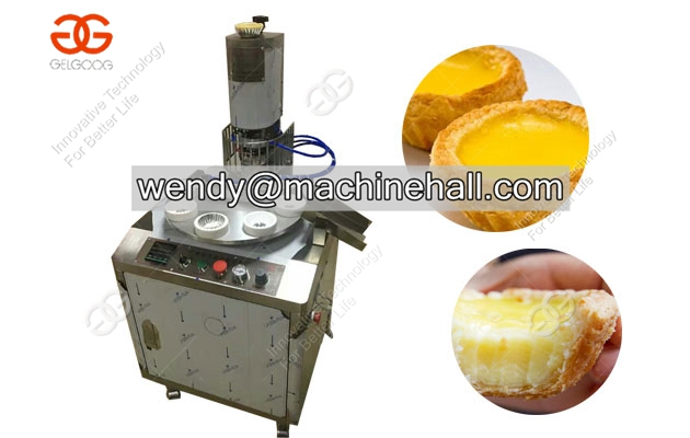 High efficiency egg tart shell making machine|egg tart forming machine with low price in china