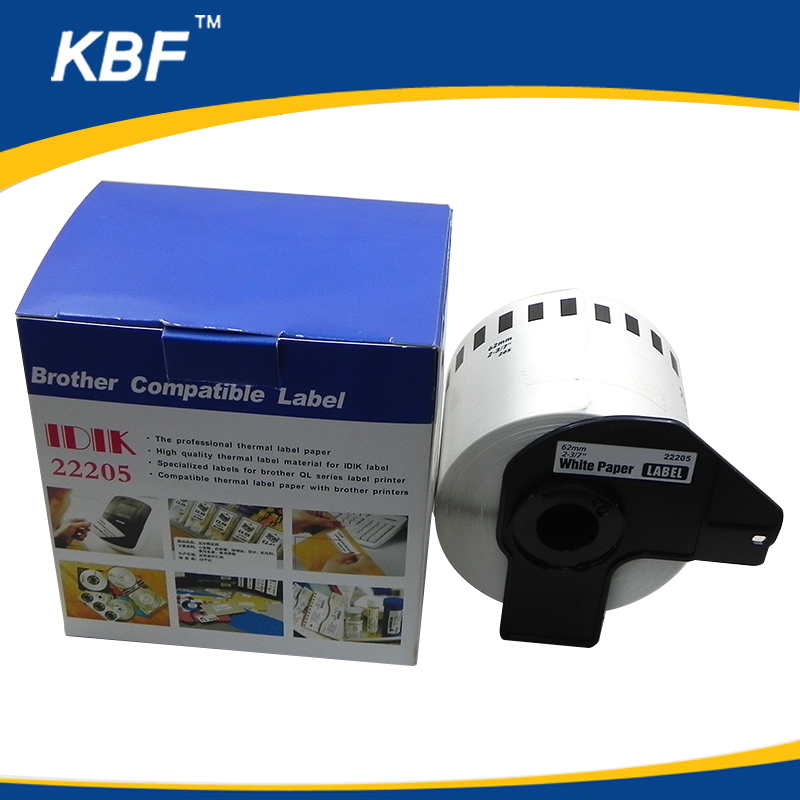 Compatible Brother paper labels DK22205,DK-22205