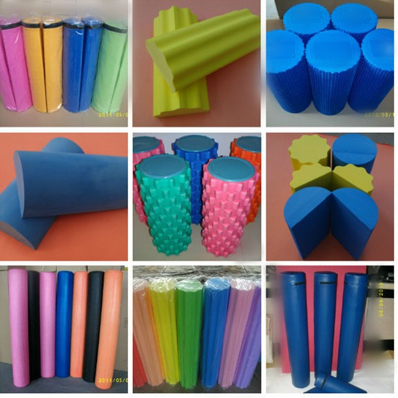 EVA,PE foam,Yoga columns, Yoga Stick