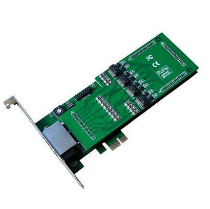 TE430 Asterisk Quad Span E1/T1 PCI-E Card
