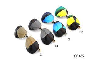 Italy Design Eyewear Cat Eyes Fashion Sunglasses