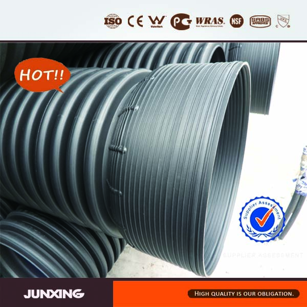 Large diameter drain pipe plastic pipe on sale