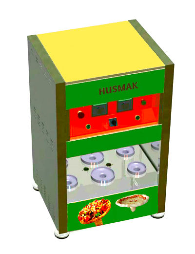 PIZZA UMBRELLA MACHINE Automatic 6 capacity