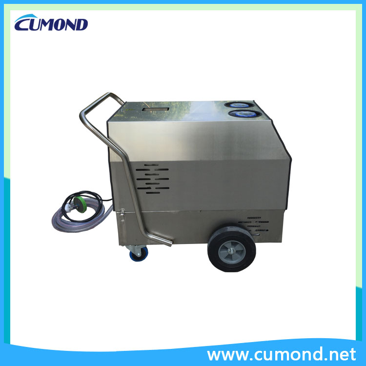 2 steam guns,hot&cold water and steam cleaning machine