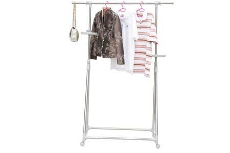 Fashionable single bar laundry  racks