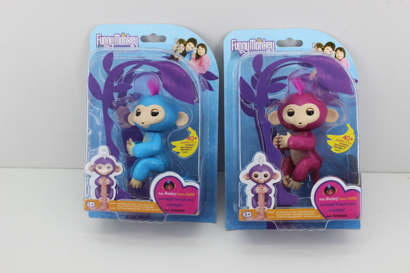 Fun intelligent sensing finger baby monkey