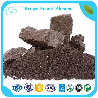 High Purity Al2O3 95% Brown Corundum / Brown Fused Alumina For Abrasive