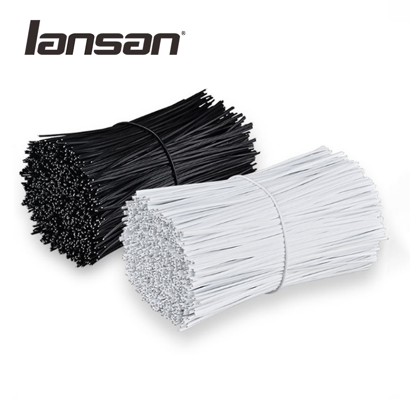 Lansan PE plastic coated nose bridge strips for medical face mask