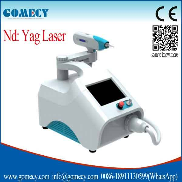 Portable tattoo removal nd yag laser/Q Switch ND YAG Laser for tattoo removal and black doll treatme