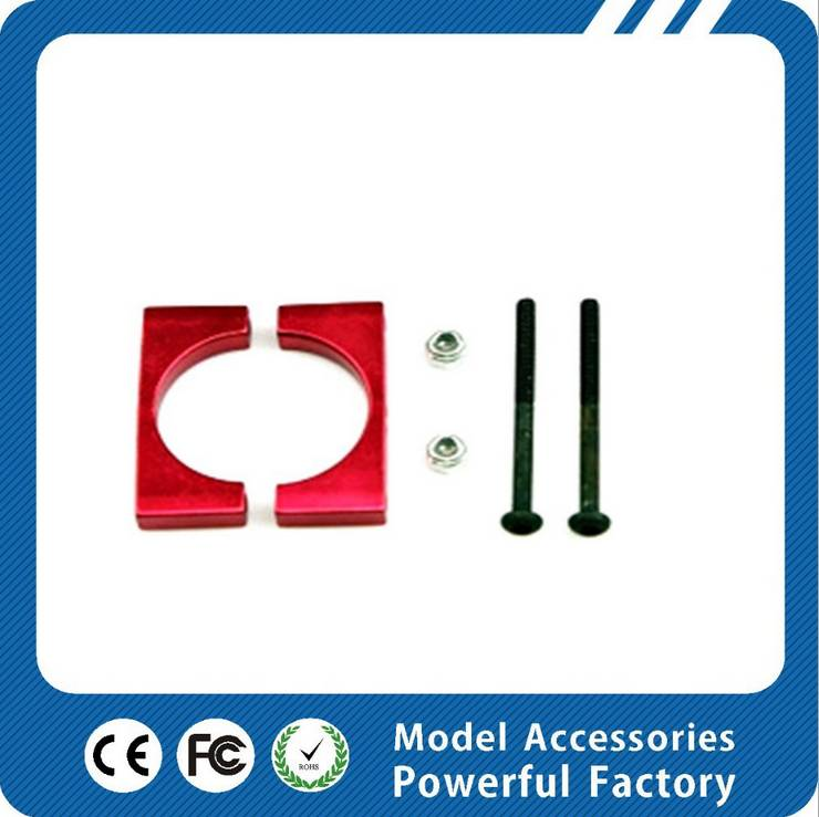 Diy rc airplane aeroplane general aluminum pipe clip tube clamp for lily camera drone Multicoper dro