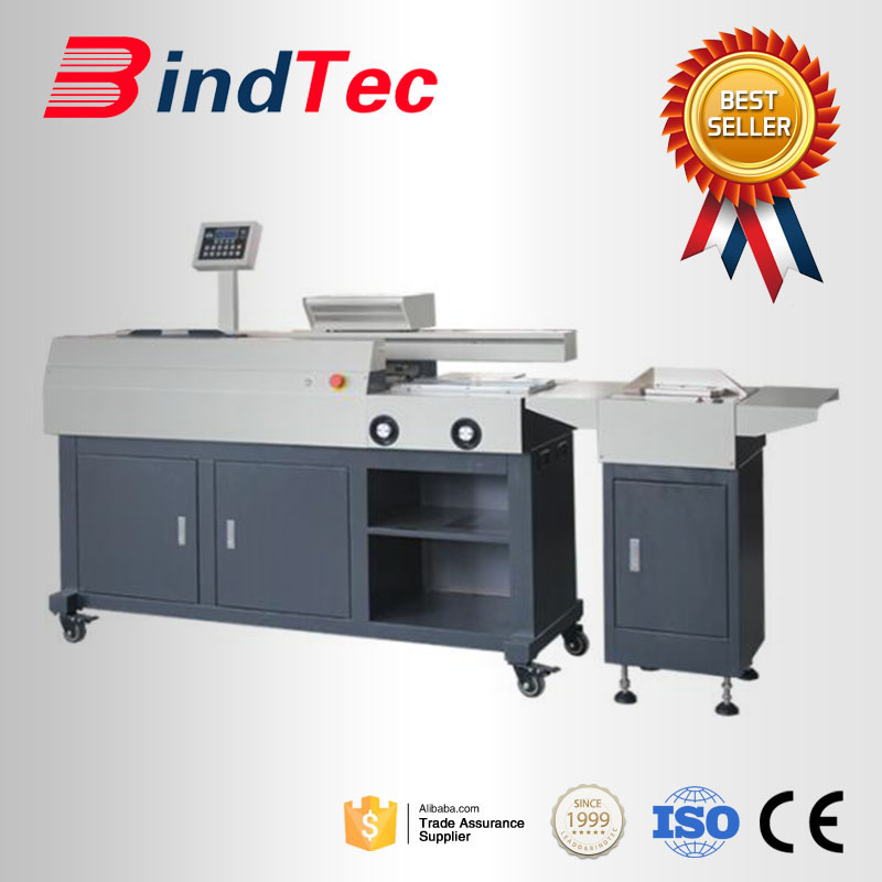 BD-S60C-A3 Hot Melt Glue Book Binding Machine Perfect Binder with Optional Creaser