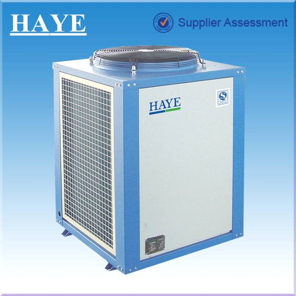 27KW constant temperature heat pump for school hot water