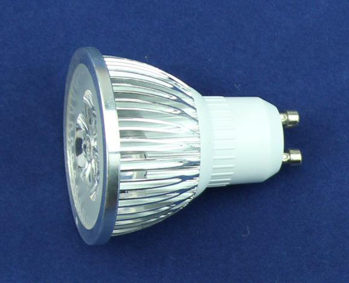 high brightness aluminium holder G5.3/10 3W LED spotlight