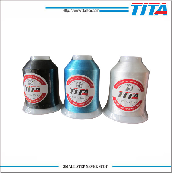 120D/2 polyester embroidery thread 5000m with popular in South America