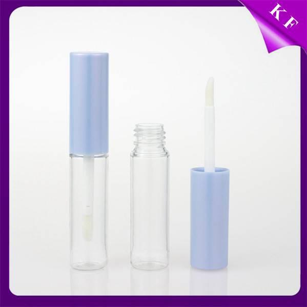 Shantou Kaifeng screen printing Cheapest Waterproof Empty Lip Gloss Tube with brush CG2217