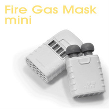 Safety Fire Gas Mask Mini, Fire escape smoking gas mask, Weight : 26g (Made in South Korea)