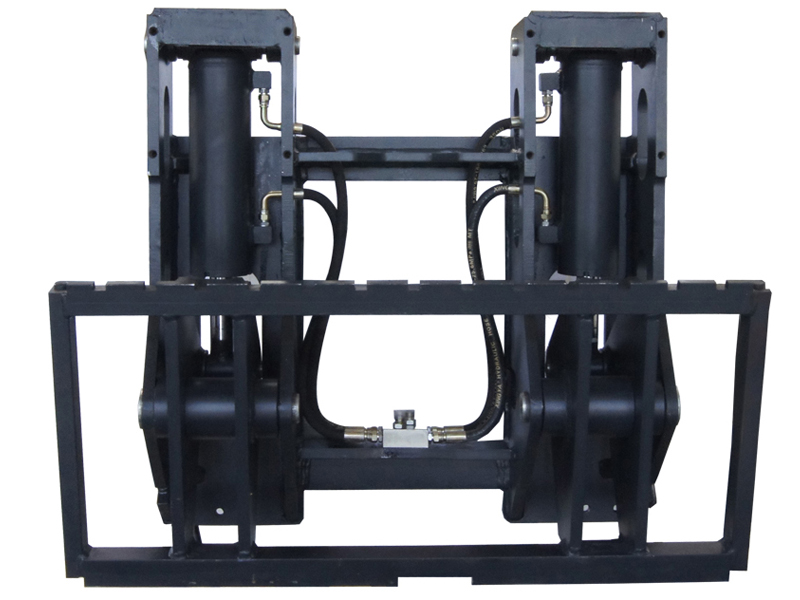 Forklift Attachment Hinged Fork