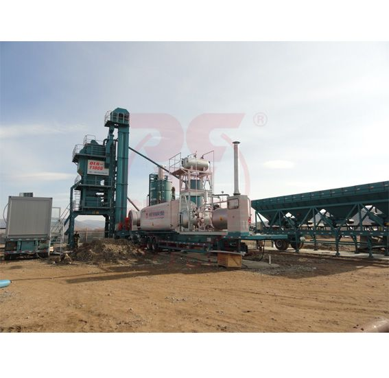 LB Stationary Asphalt Mixing Plant