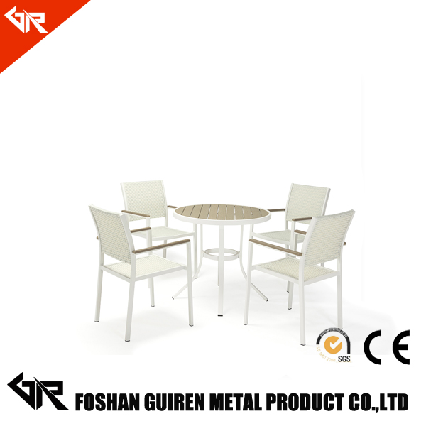 outdoor metal lounge leather dining chair