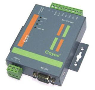 C52E/C53 RS-232 to RS-422/485 Converters (with Optical Isolation (C53))