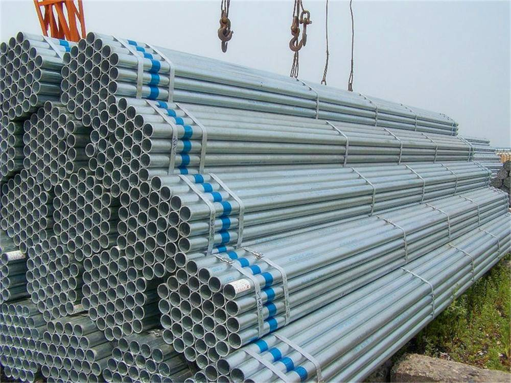 Welded Connection Round Hot-DIP Galvanized Steel Pipe