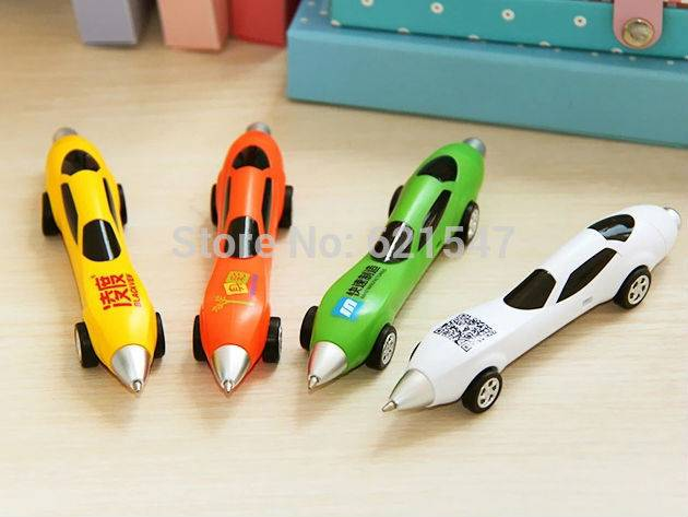 Novelty Ballpoint Pen Cool Car Styling Auto Pen Learning Stationery Pens Ballpen Free Shipping Free