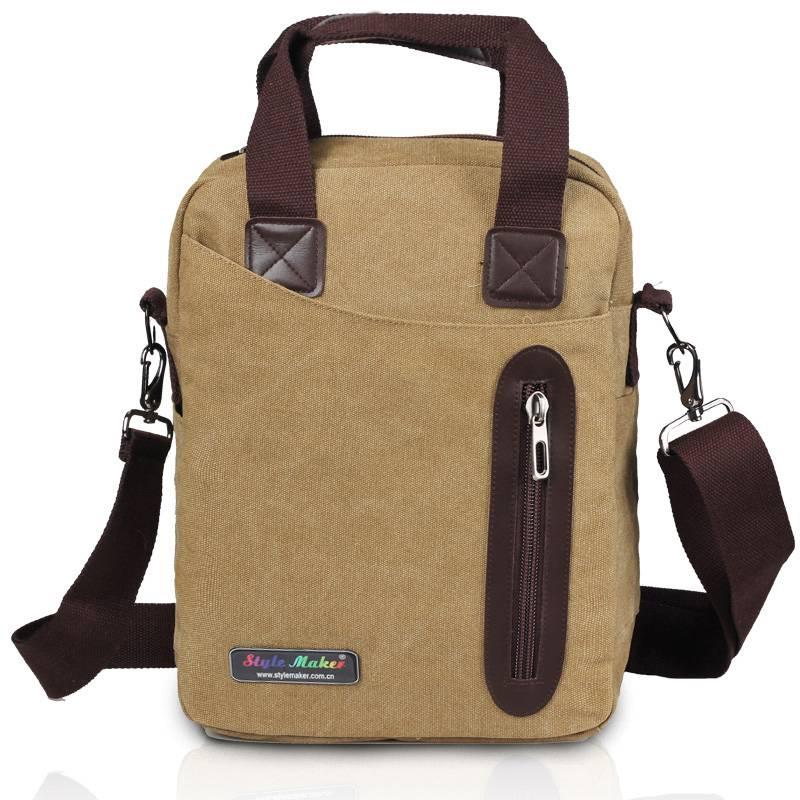 Canvas Computer Shoulder bag GF-073