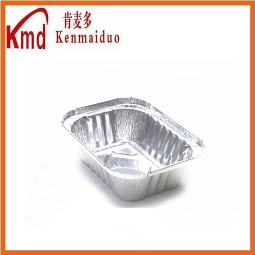 RFE130 aluminum foil rectangle food packing container