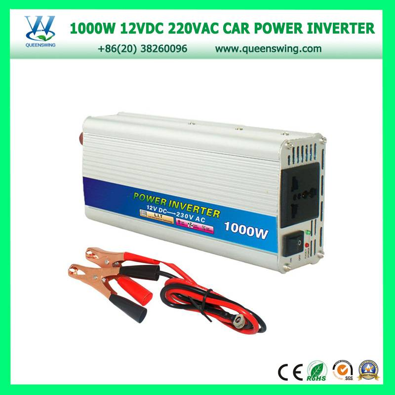 1000W 12VDC 220VAC Car Power Inverter with USB