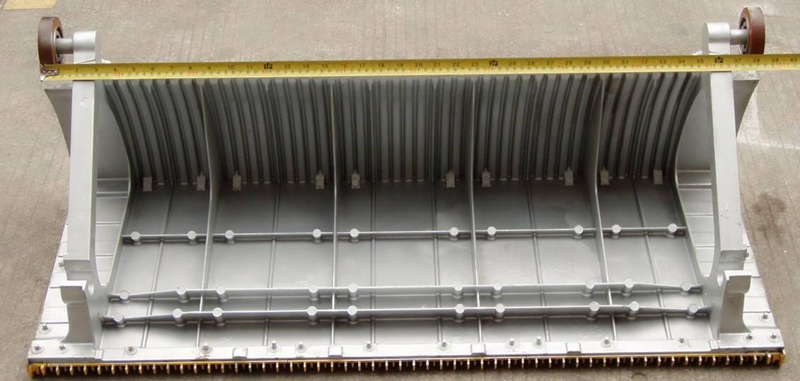 Sigma escalator aluminum step width 1000mm