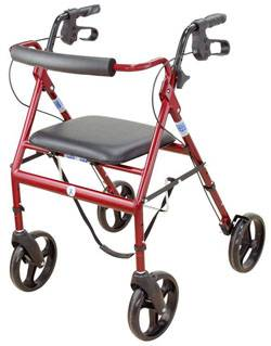 Foldable Rollator walkers