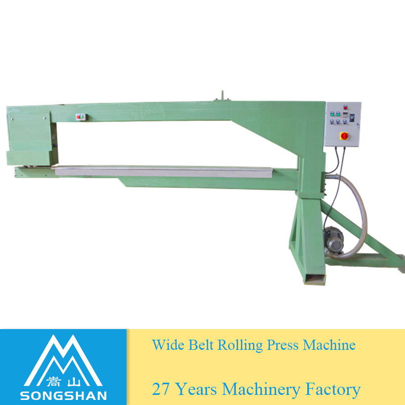 Wide Abrasive Belt Joint Continuous Roll Press Machine