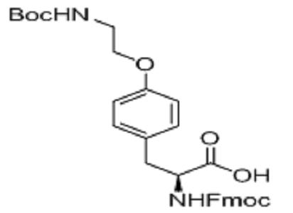 Fmoc-4-[2-(boc-amino)ethoxy]-L-phenylalane