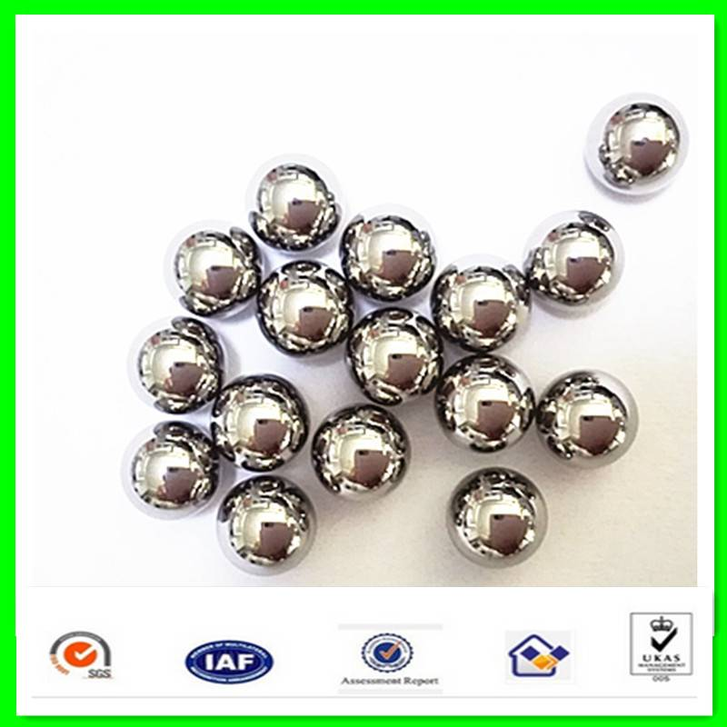 China Steel Ball Manufacturer from Shandong / Chrome Carbon Stainless Ball