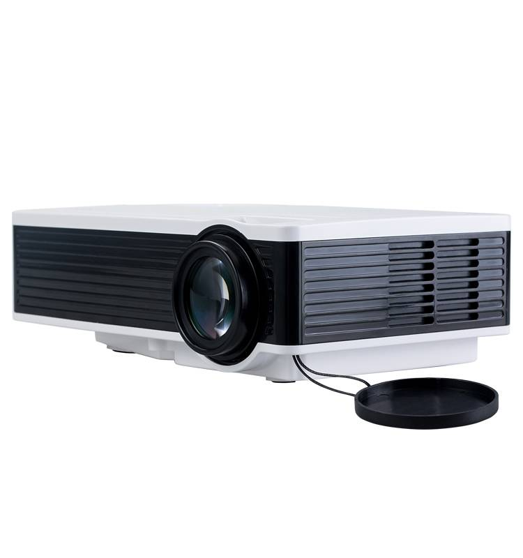 CRE X1600 Free shipping 1000 lumens 1000:1 contrast low cost lcd led mini hd home theater projectors